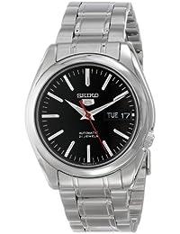 Seiko Herren-Armbanduhr 5 Gent Analog Automatik Grau SNKL45K1