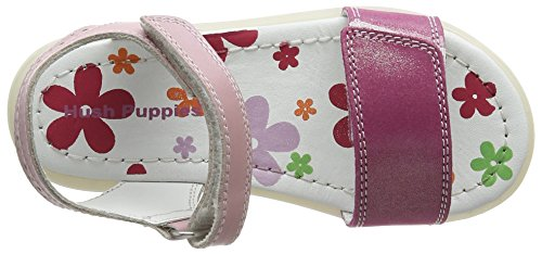 Hush Puppies Izzy, Sandales Bride Cheville Fille Rose (Pink)