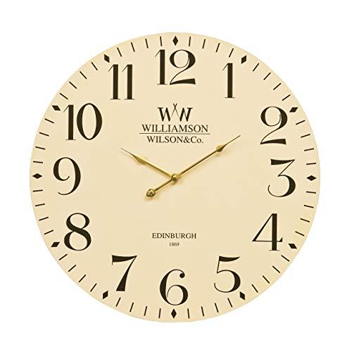 Premier Housewares Horloge murale classique Crème 60 cm