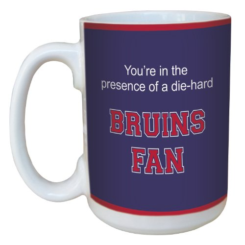 Tree-Free Greetings lm44639 Bruins College Basketball Ceramic Mug with Full-Sized Handle, 15-Ounce - Belmont Cup