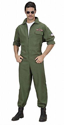 Widmann - Erwachsenenkostüm Kampfjet Pilot (Flieger Kostüm Ideen)