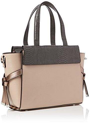 Dune Womens Delpha Top-Handle Bag Beige (Blush)