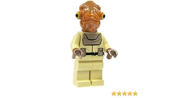 Lego 3 New Mon Calamari Officers Star Wars Minifigures People Figures