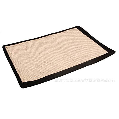 Pet supplies Manta de Garra de Gato de sisal, Pierna Legging, diseño de Velcro, Longitud 40 cm, Ancho 30 cm, artículos para Mascotas.