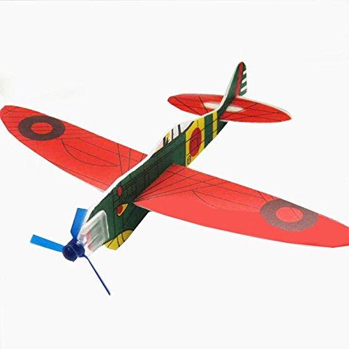 Preisvergleich Produktbild 3 Wurfgleiter Flugzeuge aus Styropor zum Spielen und Werfen Gleitflugzeug / Spielflugzeug 3er Set für Kinder ab 3 Jahre