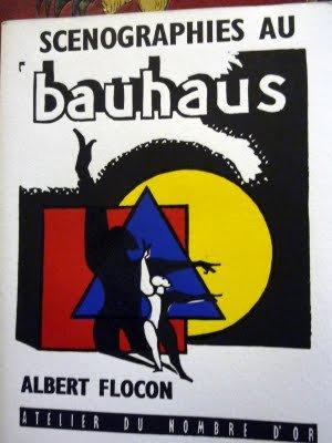 Scénographies au Bauhaus, Dessau 1927-1930. Hommage à Oskar Schlemmer en plusieurs tableaux. Précédé d'une lettre de Philippe Soupault.- 31 linogravures orig. D'Albert Flocon.