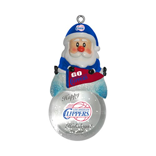 Boelter Brands NBA Los Angeles Clippers Snow Globe Ornament
