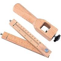 MUANI Einstellbare Leder Craft Cutter Bügel-Gurt-DIY handgemachte Schneidwerkzeuge Holzstreifen Schneider preisvergleich bei billige-tabletten.eu