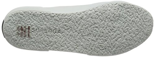 Superga Unisex-Erwachsene 2750 Cotleasnakeu Sneaker Mehrfarbig (white gold)