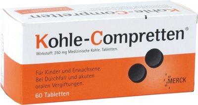 Preisvergleich Produktbild Kohle-Compretten,  60 St. Tabletten