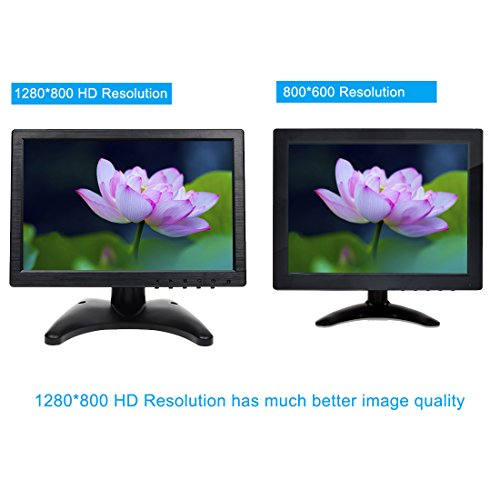 Toguard 101 Inch IPS touching Monitor show together with Stylus Color really Thin HD 1280800 Video Monitor exhibit together with BNC AV HDMI VGA Video suggestions Earphone end result created in subwoofer Monitors