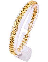 Joyalukkas Impress Collection 22k Yellow Gold Charm Bracelet for Women