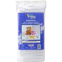 Glorex - Material de relleno para manualidades, color blanco, color 1000 g