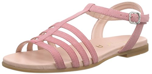 Unisa Latina_16_ks, Sandales ouvertes fille Rose - Pink (CHUY)