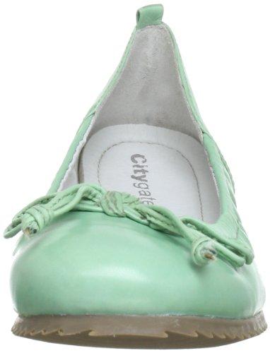 Citygate 840456, Chaussures basses femme Vert (Apfel 7)