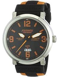 Formex 4 Speed TS725 - Reloj analógico de caballero automático con correa de silicona multicolor - sumergible a 100 metros