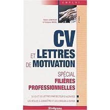 Cv et lettre de motivation spécial filières professionnelles