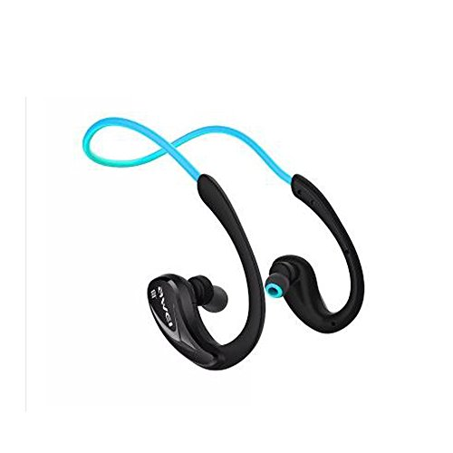 Sweatproof NFC Blutooth V4.1 In Ear Headphones CVC6.0 Noise Isolation Wired Earbuds Earphones - Black Noise Isolation Earbuds