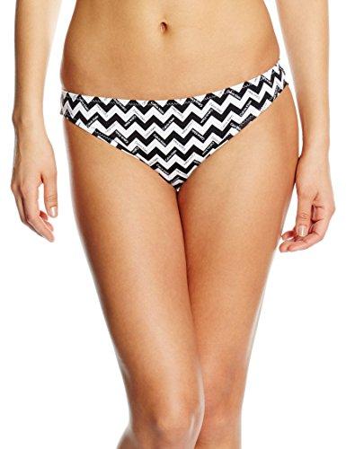 Calvin Klein Women's Briefs Bikini Bottoms -  Black, 32 (Herstellergröße: XS) (Bikini Calvin Klein Print)