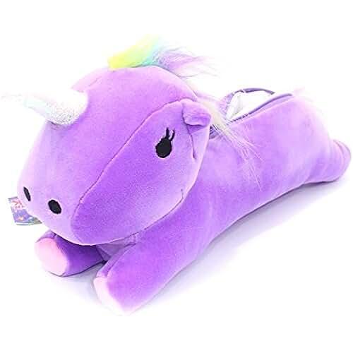 unicornios kawaii ehenz® TM–Neceser unicornio 30cm, color morado 30CM x 11CM