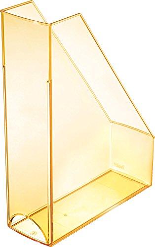 Helit Economy H2361440 Portariviste, formato A4-C4, in plastica, colore: trasparente/arancione
