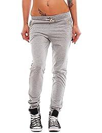 10158 Fashion4Young Damen Soprthose Jogginghose Hose Laufhose verfügbar in 5 Größen 4 Farben