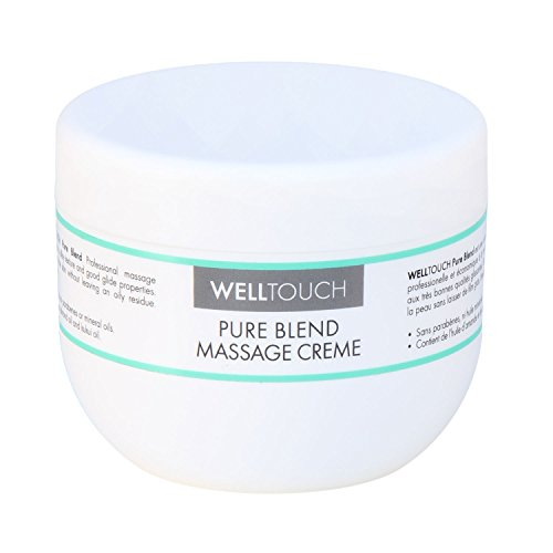 WellTouch Pure Blend Massage Creme, 300 ml Tiegel, Profi-Massagecreme für die Massagepraxis, Physiotherapie, Spa & Wellness-Institut