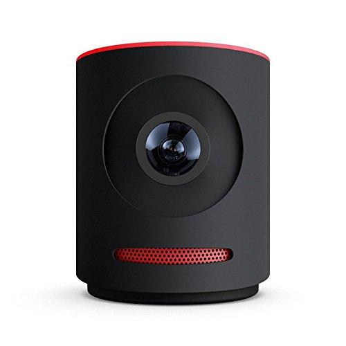 "Livestream LS-MV1-01A-BL ""Mevo"" Live Event Kamera (16GB Speicher, Micro SD Card, USB Ladegerät, 3m USB-Kabel) schwarz/rot"