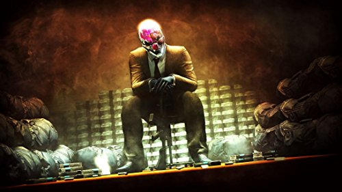 payday-2-customized-25x14-inch-silk-print-poster-seide-plakat-wallpaper-great-gift