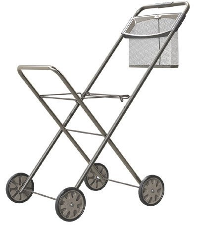 Hills Panache Deluxe Trolley mit Peg Wäschesack, Wäschewagen