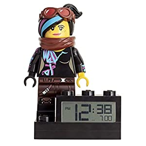 LEGO Movie 2 9003974 Wyldstyle Minifigure Kids Light Up Alarm Clock  LEGO