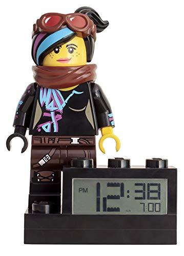 LEGO Movie 2 9003974 Wyldstyle - Reloj Despertador para niños