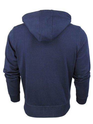 Homme Mode South Grève Capuche Sweat-shirt 'Watt' Bleu