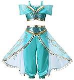 About Time Co Mädchen Prinzessin Pailletten Kostüm