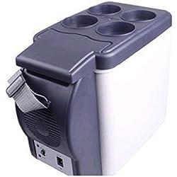 ZHENGQIANFrigorifero dell'automobile freddo e calore mini portatile 6L congelatore / scatola di riscaldamento 12V