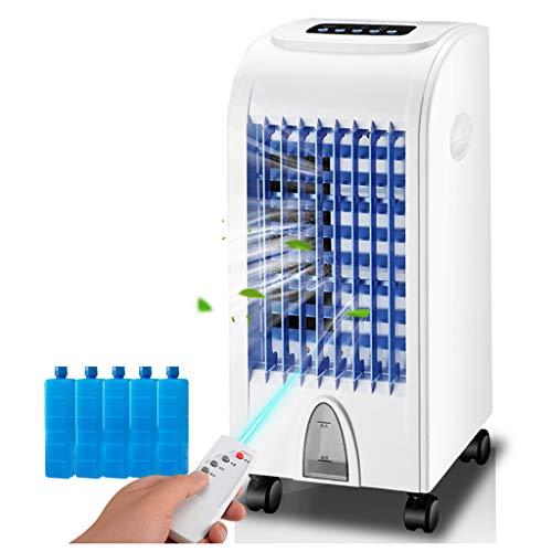 fan Mobiles Klimagerät Klimaanlage Fast Cooling Air Cooler,Für Räume bis 60 m³ (~ 25 m²),7h Timer, Entfeuchtungs- und Belüftungsfunktion, einstellbare Luftausblasrichtung, 3 Ventilationsstufen (Eis-kühler Terrassen Für)