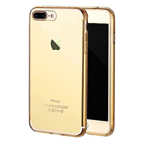 iPhone 7 Plus Hülle,iPhone 7 Plus Case Cover,Sunroyal iPhone 7 Plus Transparent Sparklers Hülle TPU Case Schutzhülle Silikon Crystal Case Durchsichtig,Silber Glänzend Glitzer Kristall Luxus Bling Star Pattern 06
