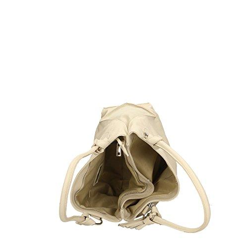 Tienda De Venta Precio Barato Asequible Chicca Borse Handbag Borsa a Mano in Vera Pelle Made in italy - 36x28x17 Cm Beige El Más Barato En Línea Finishline En Venta Envío Libre De Los Nuevos Estilos 6QuenpMN6k