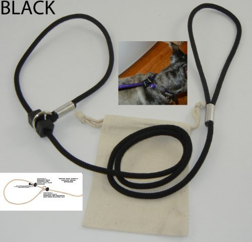 leashinabag-easy-on-easy-off-dog-leash-1-4-black-made-in-the-usa-by-woss-enterprises