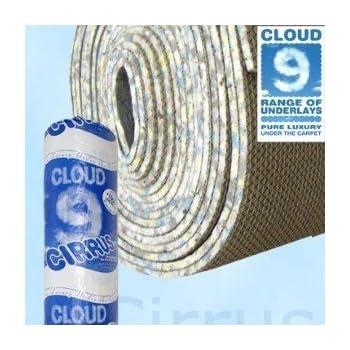 Cloud 9 Cirrus Carpet Underlay 9mm. Best Price On Amazon
