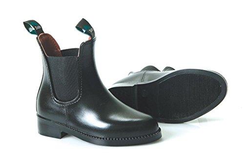 Dublin Enfant universel Boots d'équitation Bottes Noir - noir