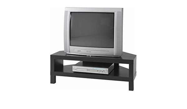 Strange Ikea Lack Corner Tv Bench Black Brown 100X55 Cm Amazon Ocoug Best Dining Table And Chair Ideas Images Ocougorg