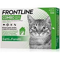 Pipette Frontline Combo Spot-On Gatti e Furetti - 3 Pipette da 0.5 ml