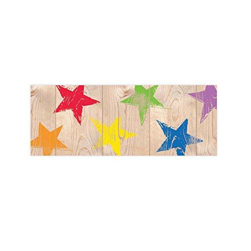 Creative Lehre Press UPCYCLE Style rustikalen Sternen Bordüre (8380)