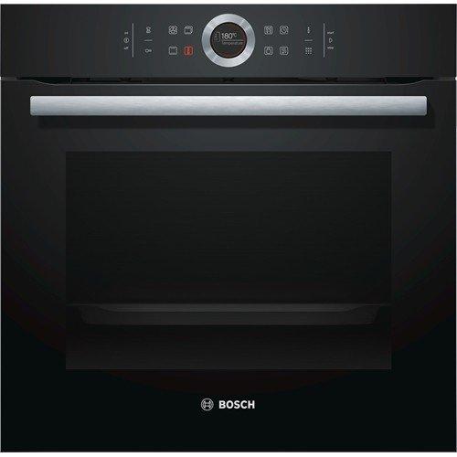Bosch HBG672BB1F Four électrique encastrable, taille moyenne, classe A+, noir, capteur