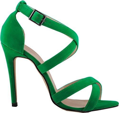 Pcp, Peep Toes Senhora Verde