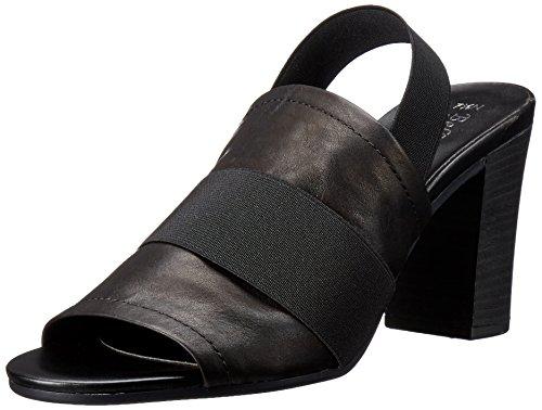 Bella Vita Sassari Breit Leder Sandale Black