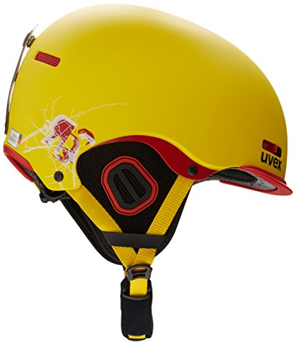 UVEX Helm Hlmt 5 Pro, Yellow/Chilired Mat, 55-59 cm, S56.6.146.6305