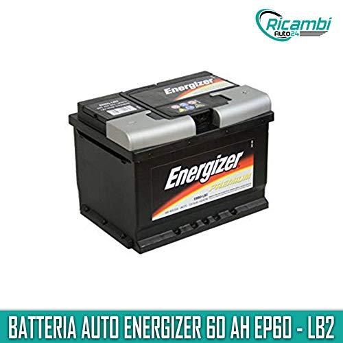 Batteria per auto Energizer EP60-LB2 60 Ah 540A Polo Positivo Dx