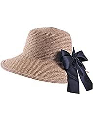 Womens Sun Hat Summer + Beach Hat Foldable